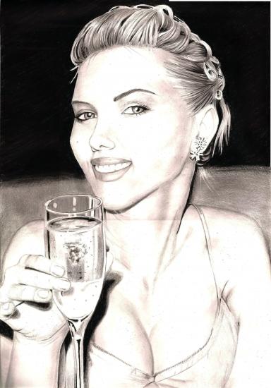 Scarlett Johansson por Jair32